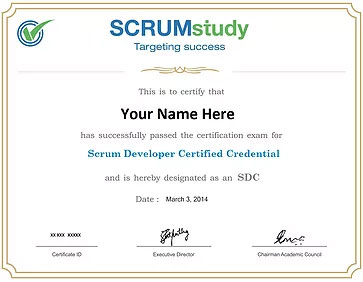 Scrum Developer Certified online trainer