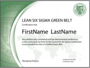 International Accredited Lean Six Sigma