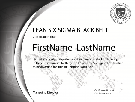 8-day black belt training | lean six sigma training and certification
