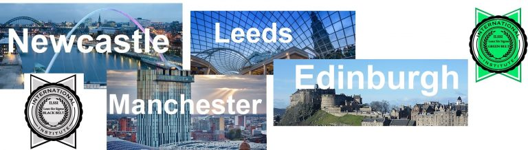 Lean Six Sigma Training Newcastle Manchester Leeds